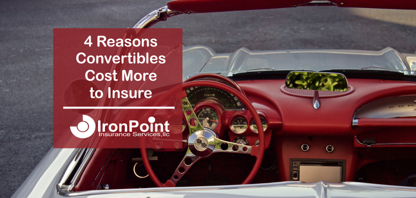 4 Reasons Convertibles Can Be Expensive To Insure